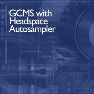 GCMS with headspace autosampler from i2 analytical