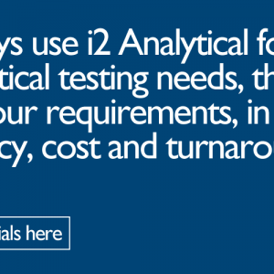 We use i2 for all our analytical needs