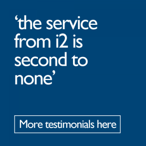 i2 Service is second to none